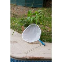 Professional Grade Heavy Duty Pool Leaf Skimmer with Aluminum Handle