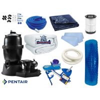 19 x 33 Oval Deluxe Equipment Package