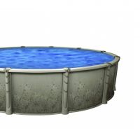 Creation 13 x 20 ft Oval 52 Inch Above Ground Pool with Nature Wall