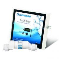 Système au Sel et Cellule Turbo 25K Aqua Rite de Hayward pour Piscine Creusée