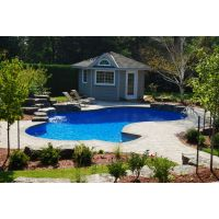 14 x 28 ft Lagoon Inground Pool Complete Package