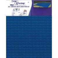 Safety Cover Repair Patch Blue Lite Solid