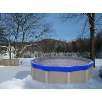 24 Ft Round Eliminator Xtreme Pool Winter Cover Pool