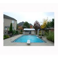 12 X 24 ft Rectangle 2 ft round corners Inground Pool Basic Package