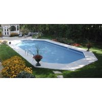 19 x 41 ft Grecian Inground Pool Basic Package