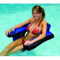 U Seat Nylon Covered Pool Chair