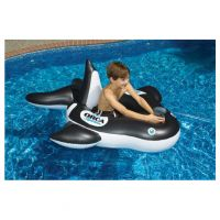 Orca Whale Squirter Pool Float