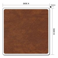 Basic Rounded Corners Square or Rectangle Hot Tub Cover