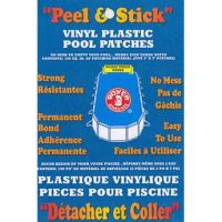 Boxer Vinyl Plastic Pool Patches (Tape) 100 Square Inches