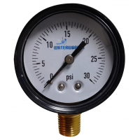 2 in. Pressure Gauge 0-30 PSI