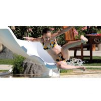 Interfab Zoomerang Pool Slide for Inground Pools Only