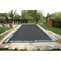 Patriot 16' x 36' Rectangle Grey Solid Inground Winter Cover