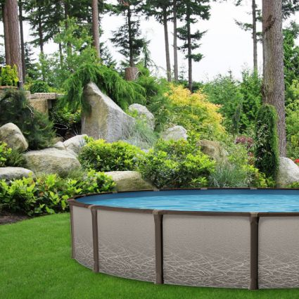 Element 12 x 24 oval above ground pool pool supplies canada for Prix piscine hors terre 24 pieds