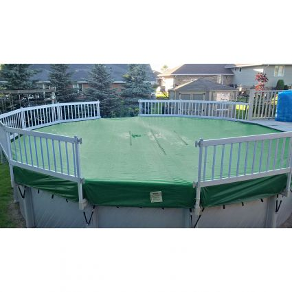 24 Round Eliminator Xtreme Pool Winter Cover Pool