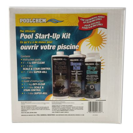 Ultimate Pool Start-Up Chemical Kit