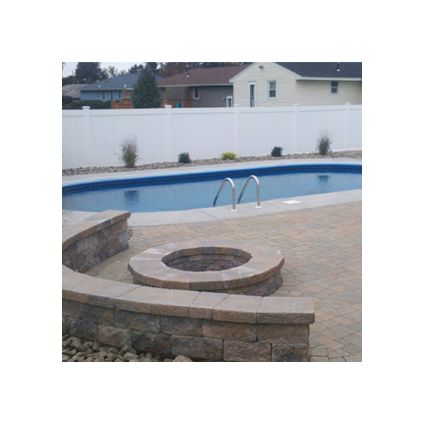Eternity 12 x 24 pied ovale semi cre magasin de piscine for Forfait piscine