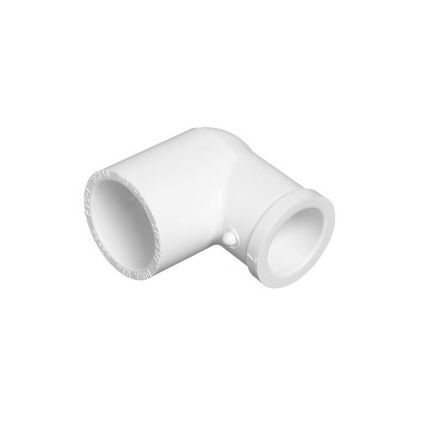 2 inch slip x 15 inch slip reducing pvc pipe elbow