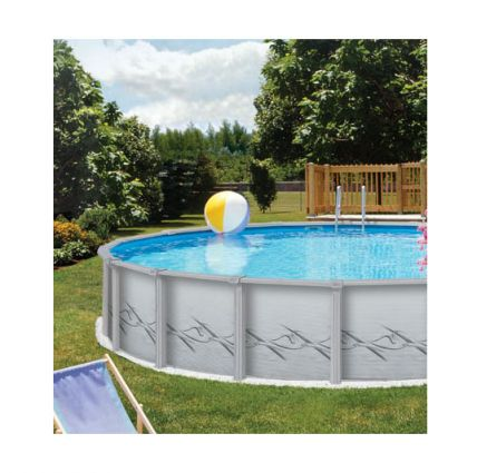 12 x 24 ft oval prima volta 52 inch above ground pool for Above ground pool equipment