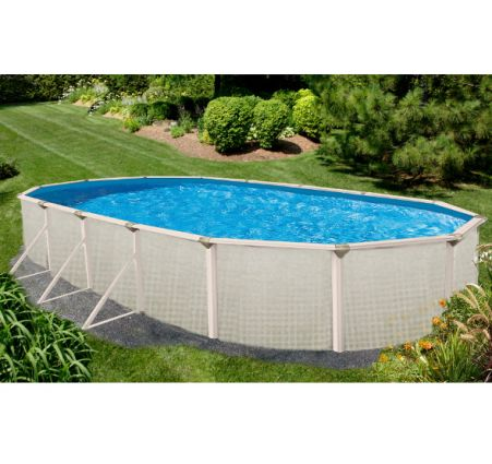 Evolution 18 X 33 Ft Oval Above Grou Pool Supplies Canada