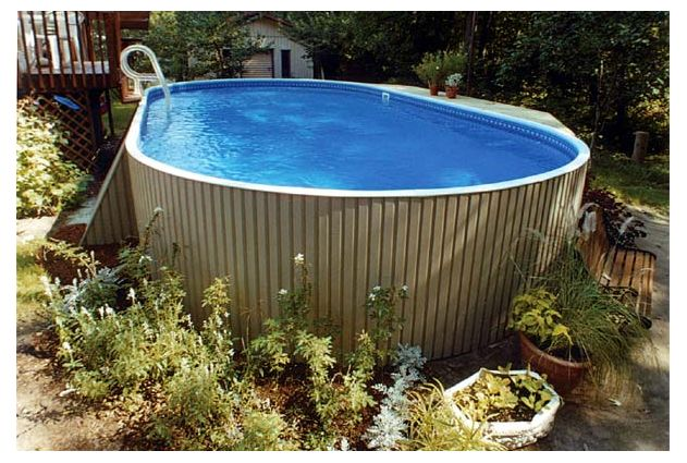 Eternity 12x24 pieds ovale semi creu magasin de piscine for Forfait piscine