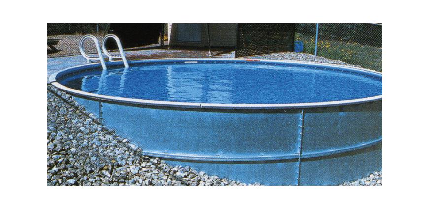 Eternity 14 X 28 Ft Kidney Semi Inground Complete Pool
